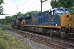 CSX 3078, 5426 on  on detour intermodal train R003